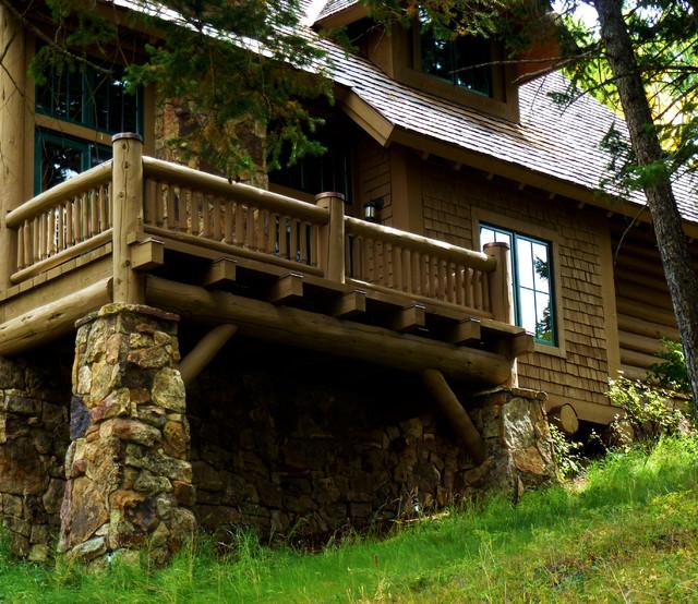 Mountain Retreat + Guest Cabin rustic