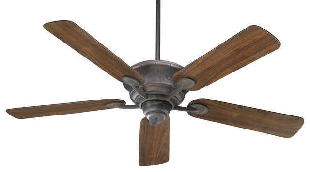 "Liberty 52"" Transitional Ceiling Fan, Toasted Sienna, Toasted Sienna/walnut"