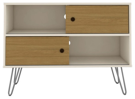 Baxter Tv Stand Small Off White Cinnamon