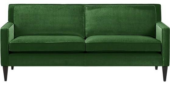 Rochelle Apartment Sofa, Emerald