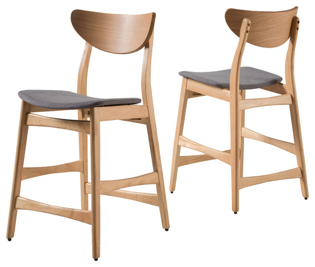 Mid Century Counter Stools Part - 41: Set Of 2 Molle Mid Century Design Counter Stools Scandinavian-bar-stools-and