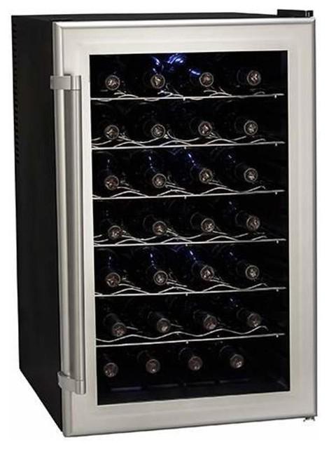 "Koldfront TWR282 18"" Wide 28 Bottle Wine Cooler"