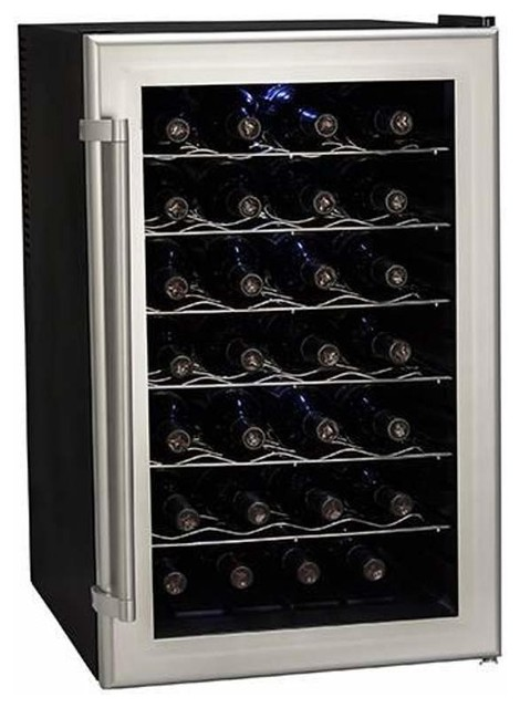 "Koldfront Twr282 18"" Wide 28 Bottle Wine Cooler."