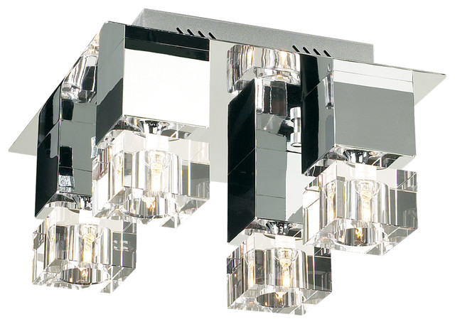 Plc Lighting 4 Light Ceiling Light Charme Collection 81234 Pc.