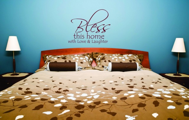 Wall Decor 20x20 : Bless this home with quotes art decal quot wall