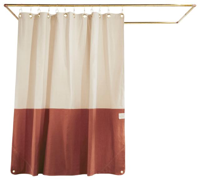 Clay Shower Curtain 72x72