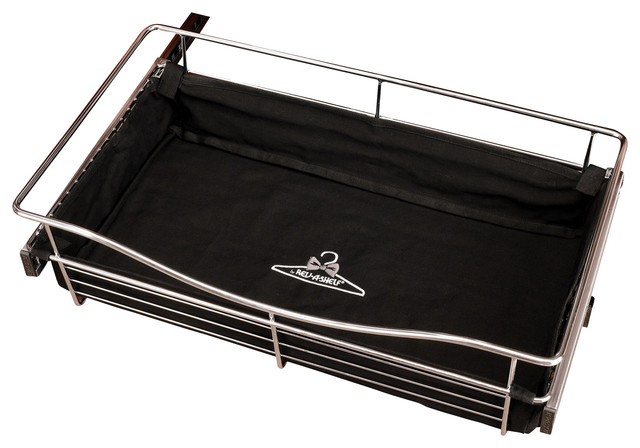 "Rev-A-Shelf, Black Closet Basket Liner, Black, 11""."