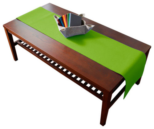 Apple Green Table Runner Contemporary Table Runners