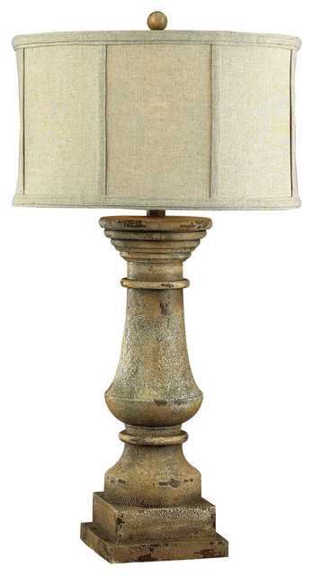 Dimond Lighting 33 Quot Cahors View Distressed Table Lamp In