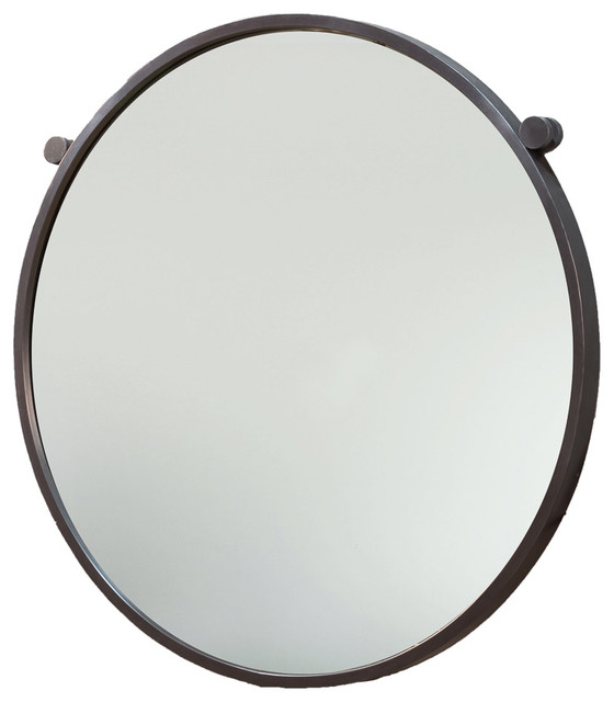 Metal mirror large contemporary wall mirrors by for Large contemporary mirrors