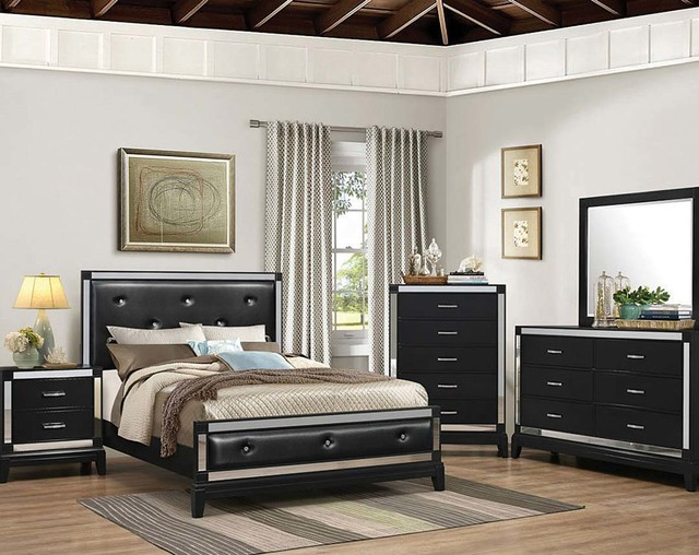 Bon City Lights Bedroom Set Bedroom