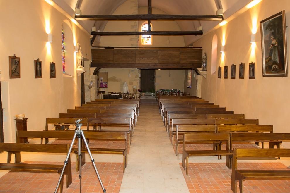 Restauration de l'Eglise de Villabé et création de la place