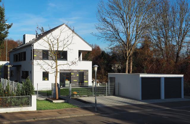 Mehrfamilienhaus modern stuttgart von seidel for Mehrfamilienhaus modern