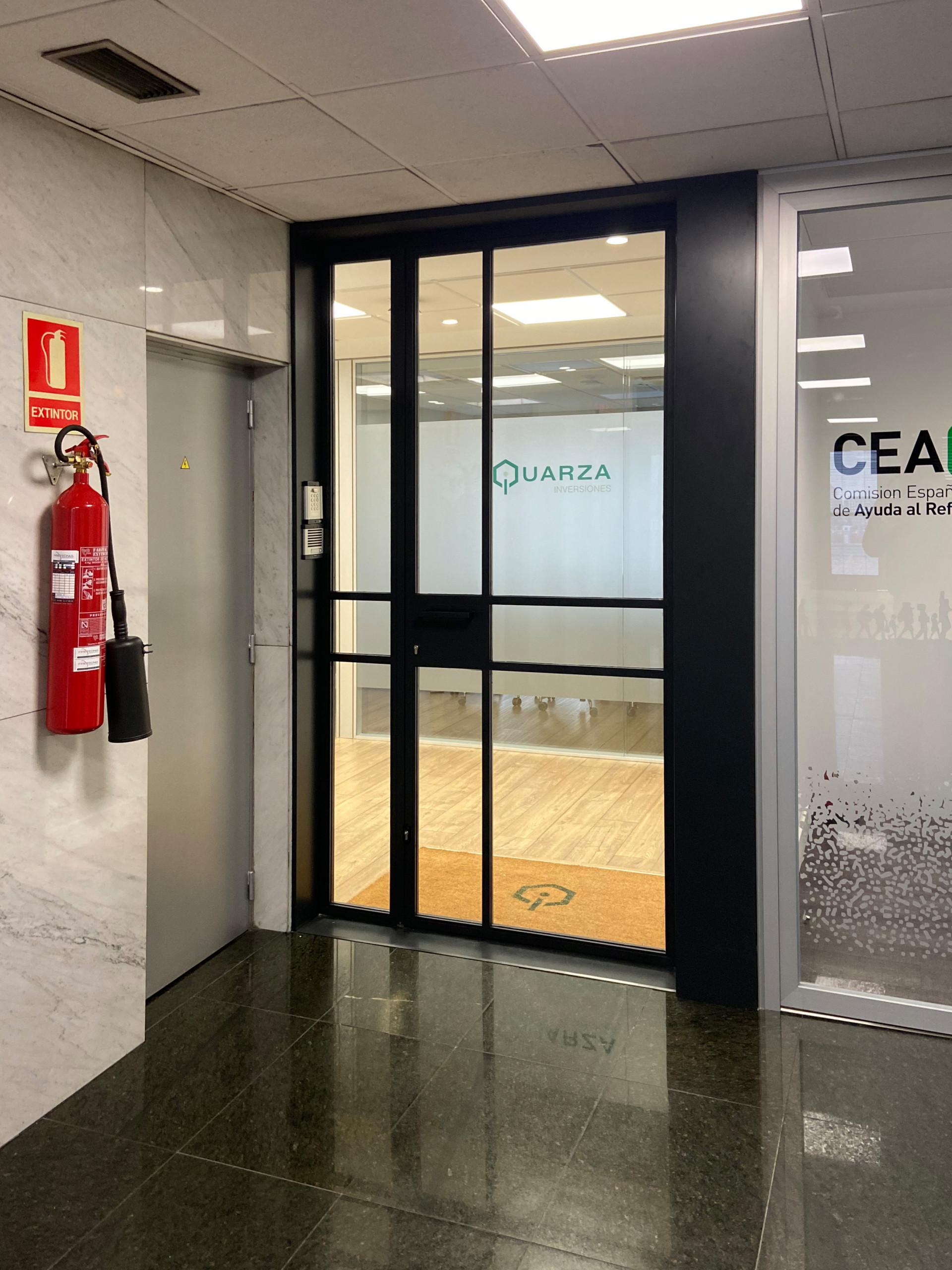 Reforma oficinas Castellana 91