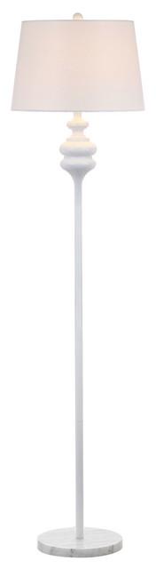 Torc Floor Lamp, White