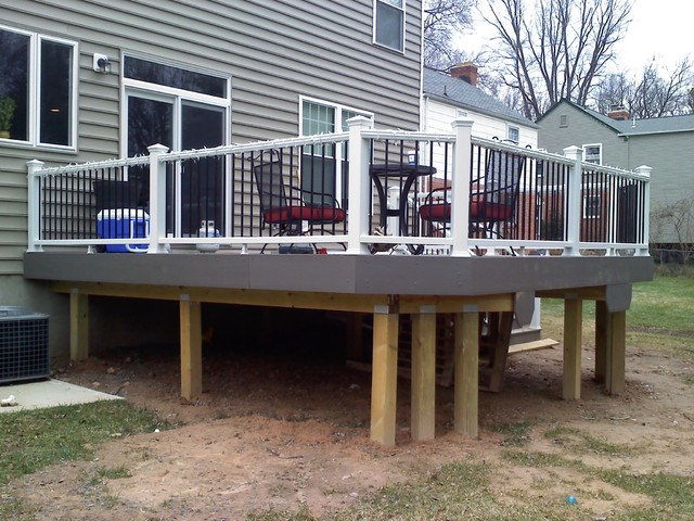 Hogwire Deck Railing Ideas