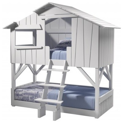 Kids Treehouse Bunk Bed Contemporary Bunk Beds By Mathy By Bols