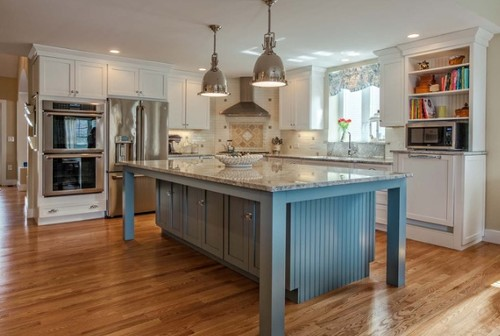 "9 Foot Kitchen Island how many pendant lights over 36""x94"" island w/9 foot ceiling?"