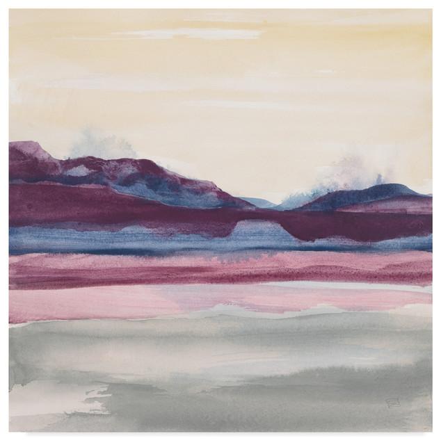 Global Gallery Chris Paschke Evening Serenade II Canvas Artwork 30 x 30