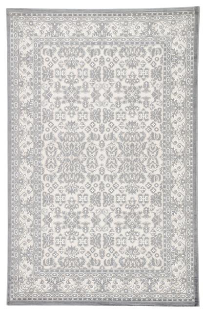 Jaipur Living Regal Damask Gray/silver Area Rug, 9&x27;x12&x27;.