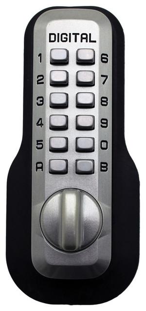 Digital Door Lock Mechanical Keyless EZ Deadbolt ...