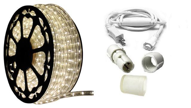 120v Dimmable Led Moon White Rope Light Standard Kit 513pro Series