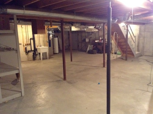 help make an unfinished basement usable