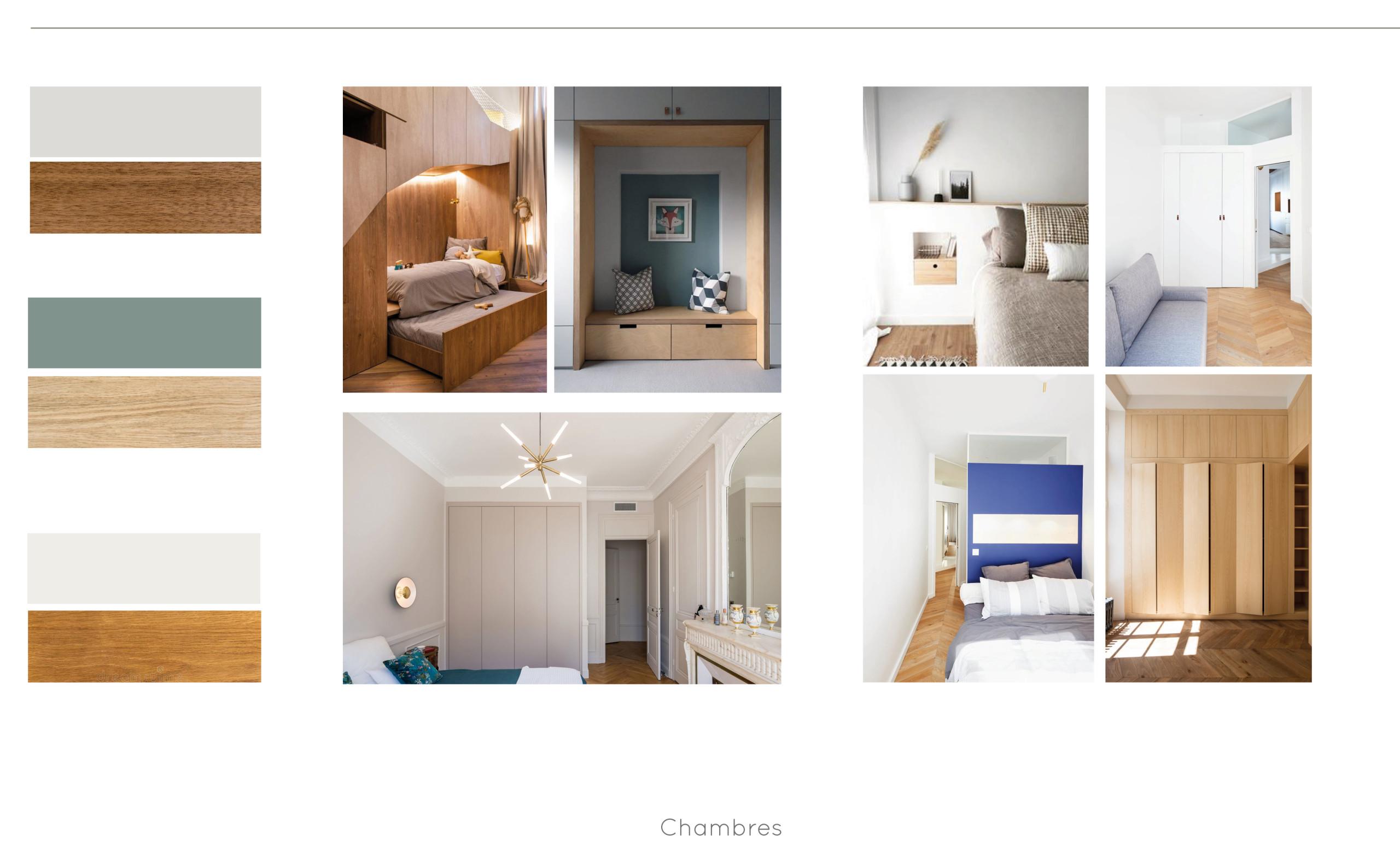 Appartement C - Planche d'Ambiance