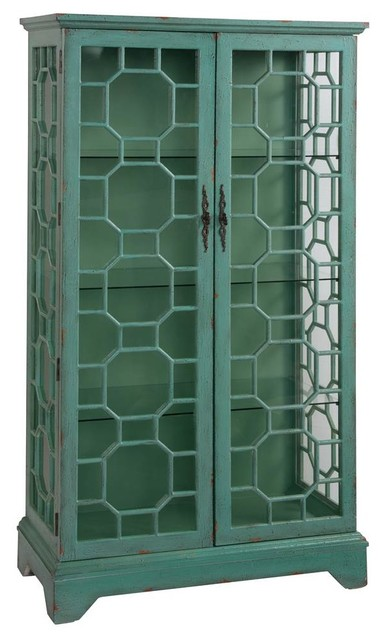 Shop Houzz | 2-Door Curio Cabinet - China Cabinets And Hutches