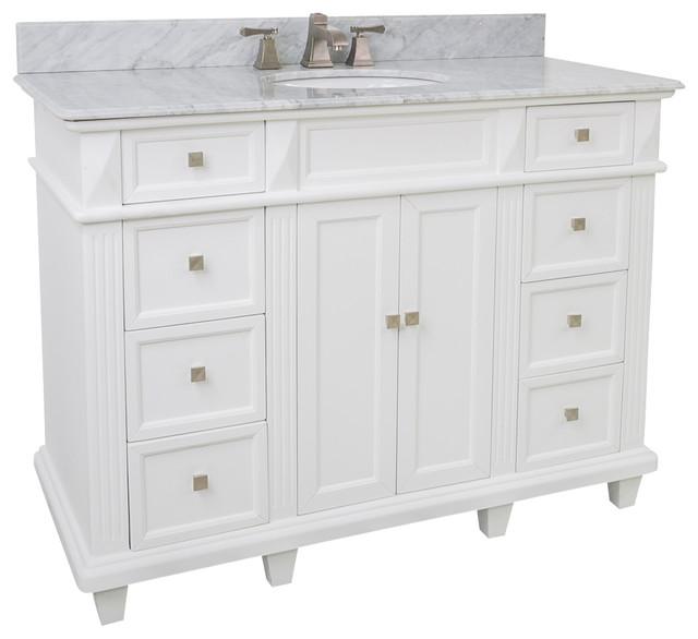 Lyn Design VAN094-48-NT - Transitional - Bathroom Vanities And ...