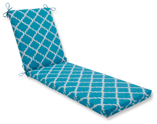Kobette Teal Oversized Chaise Cushion.