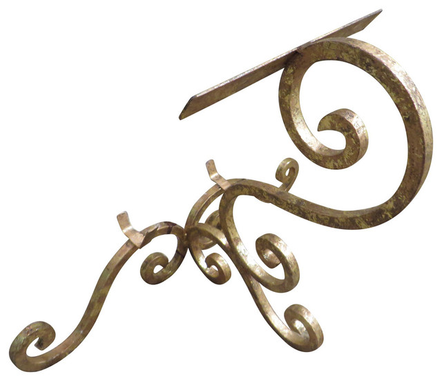 lavish gold iron scroll tabletop easel photo plate picture frame holder stand mediterranean decorative
