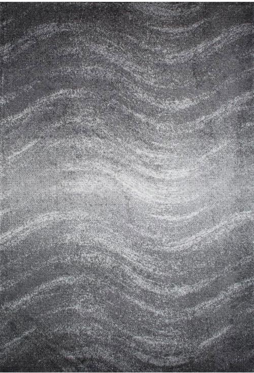 nuLOOM Ombré Waves Rug, Gray, 5