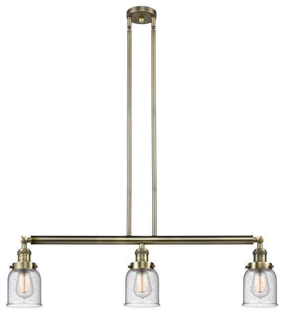Innovations Lighting 213-Ab-S-G54-Led 3 Light Dimmable Led