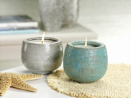 eclectic candles and candle holders by organize.com