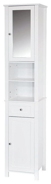 Bath Vida 2-Door Milano Tall Wall Cabinet