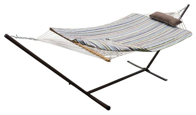 phat tommy hammock and stand set with pad and pillow beach style hammock  phat tommy hammock and stand set with pad and pillow   beach style      rh   houzz