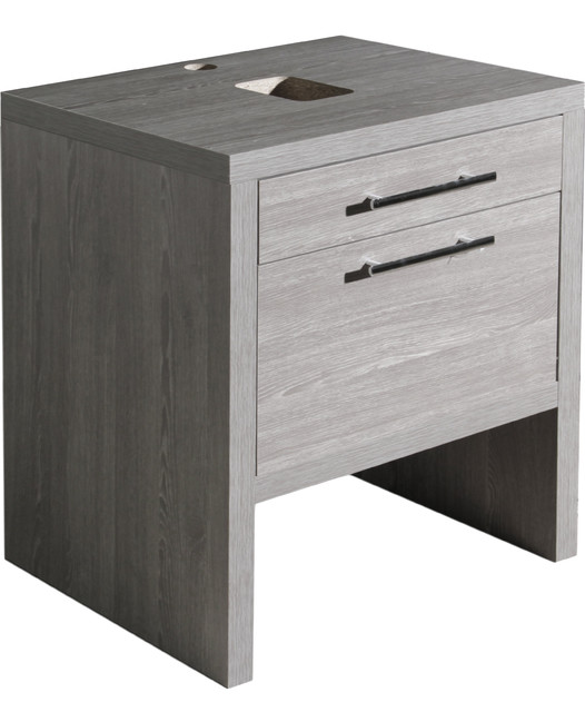 Montreal oak bathroom vanity without sink contemporary for Bathroom cabinets montreal