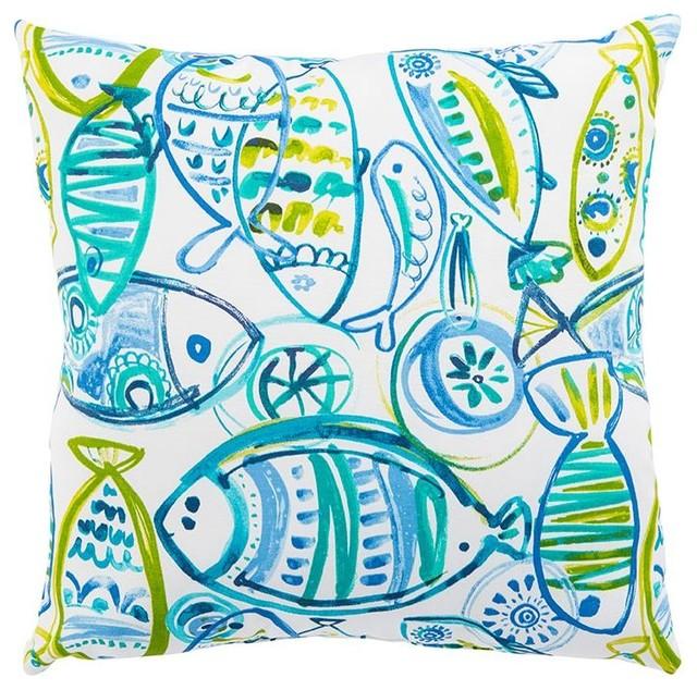 Jaipur Cast Outdoor Pillow
