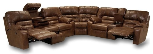 Dakota Motion Sectional, Smokey, 3-Piece Set.
