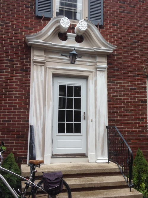 Door pediment front door pediments door ideas door for Exterior door pediment and pilasters