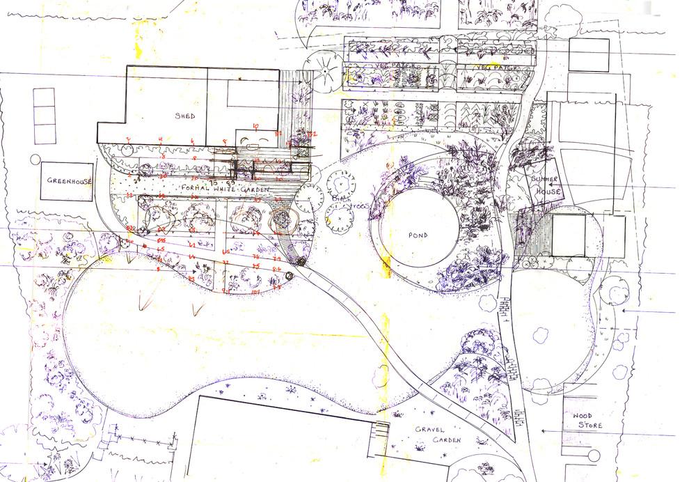 New design for top of garden, 2015