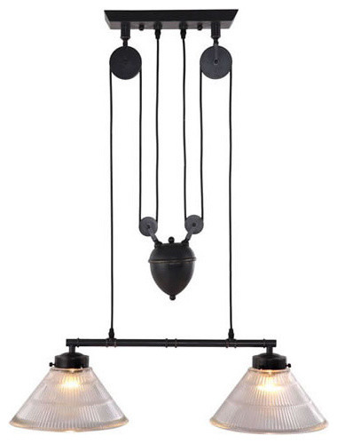 Zuo Pure Garnet Ceiling Lamp Antique Black Gold Flush