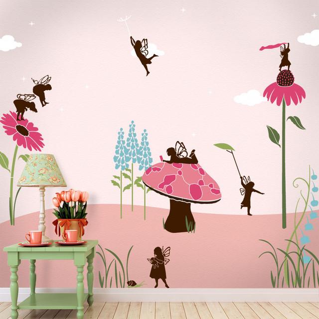 Full Kid Room Wall Stencil Kits