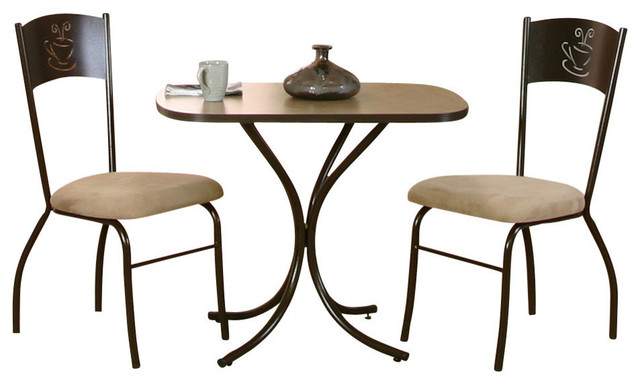 Cramco Java 3 Piece Java Bistro Set Transitional