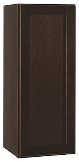 Rsi Home Products Shaker Wall Cabinet, Java, 9x30.
