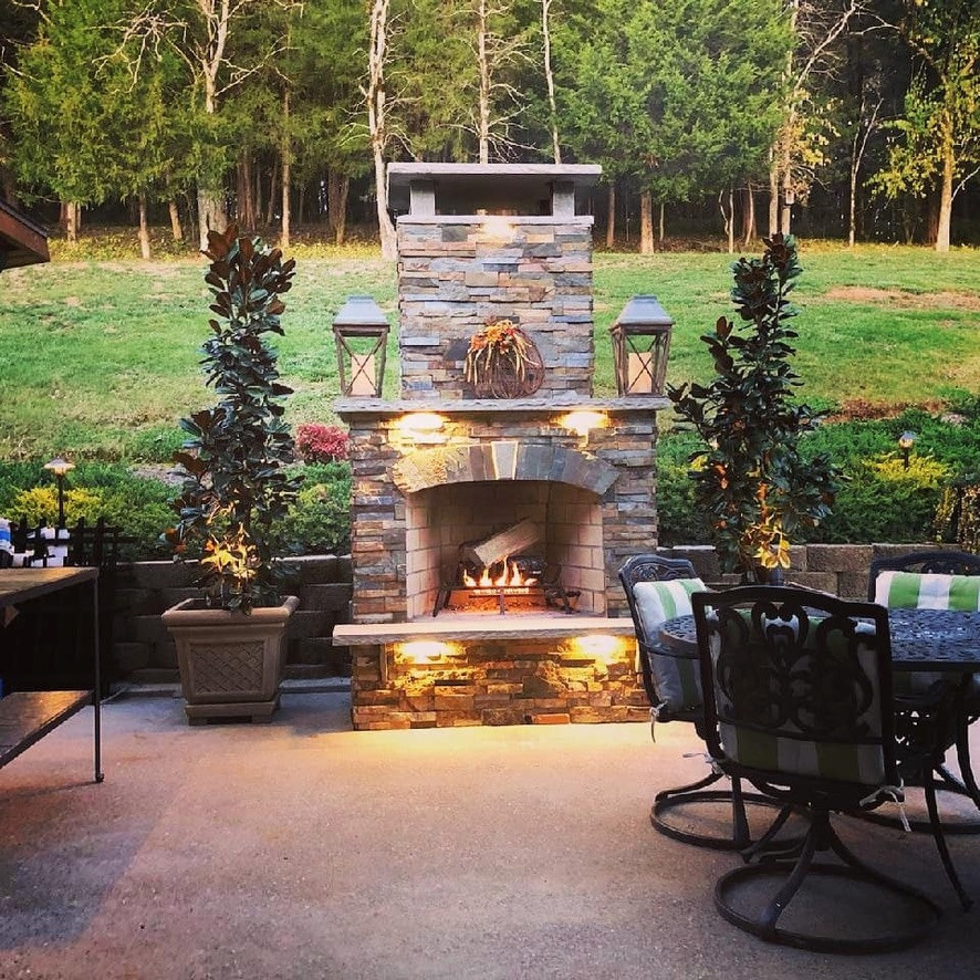 Outdoor kitchen-Hendersonville