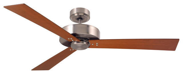 Emerson Fans Keane Brushed Steel 52 Ceiling Fan.