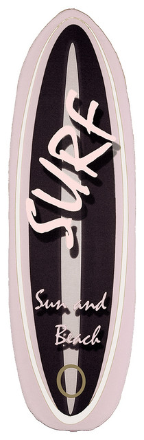 Surfboard Ironing Board Covers, Set of 2, Pink, Small