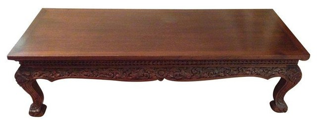 Antique Thai Teak Coffee Table Coffee Tables
